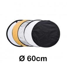 Reflexskärm 5st - 60cm