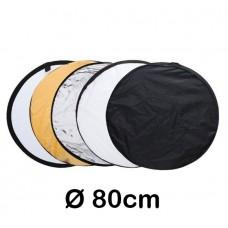 Reflexskärm 5st - 80cm