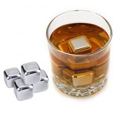 Whisky stenar metall 8st